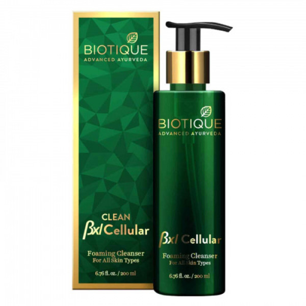 Biotique Bio Bxl Cellular Honey Gel Foaming Cleanser, 200ml