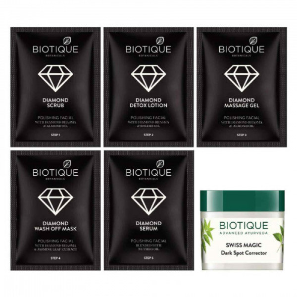 Biotique Bio Diamond Facial Kit, 65gm