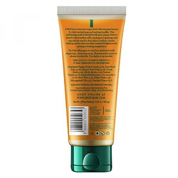 Biotique Bio Papaya Revitalizing Tan Removal Scrub, 100gm