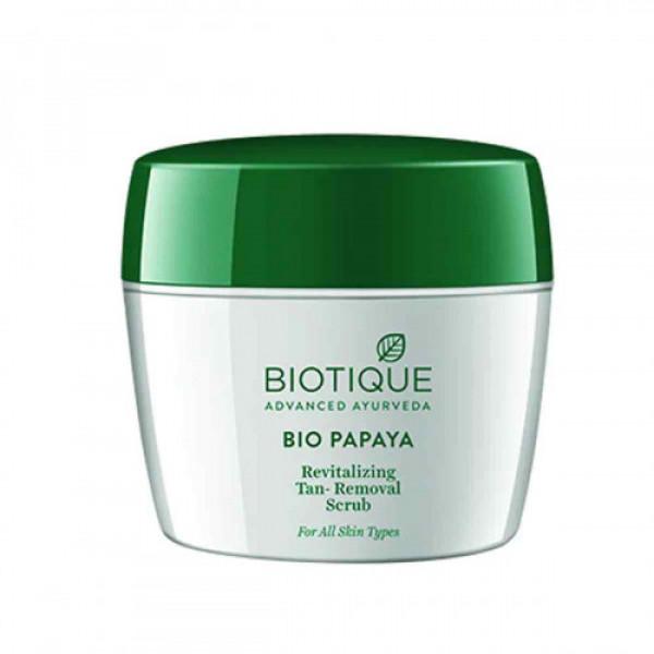 Biotique Bio Papaya Revitalizing Tan Removal Scrub, 235gm