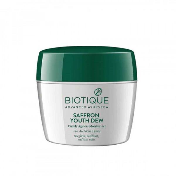 Biotique Bio Saffron Dew Youthful Nourishing Day Cream, 175gm