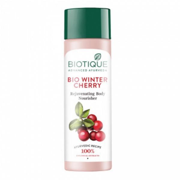 Biotique Bio Winter Cherry & Rejuvenating Body Nourisher, 190ml