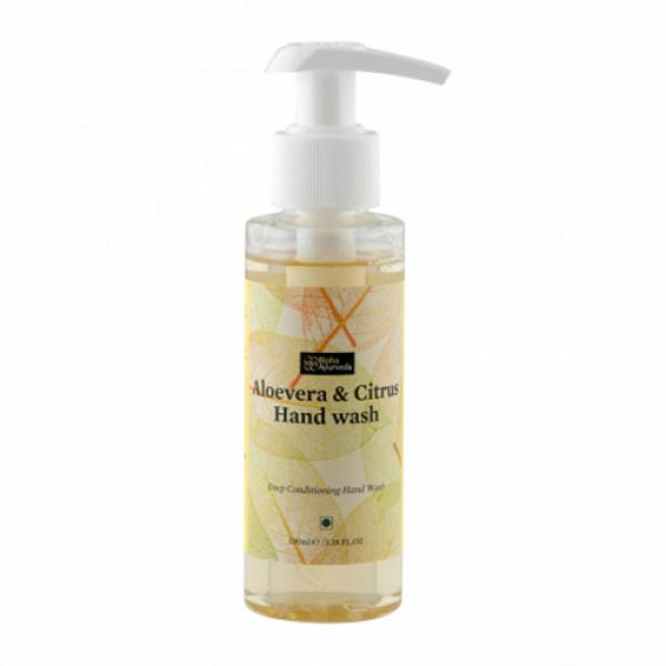Bipha Ayurveda Aloevera & Citrus Hand Wash, 90ml