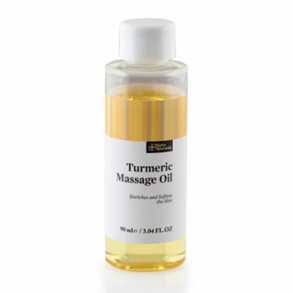 Bipha Ayurveda Turmeric Massage Oil, 90ml
