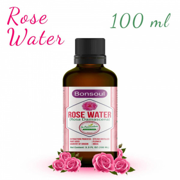 Bonsoul Rose Water, 100ml