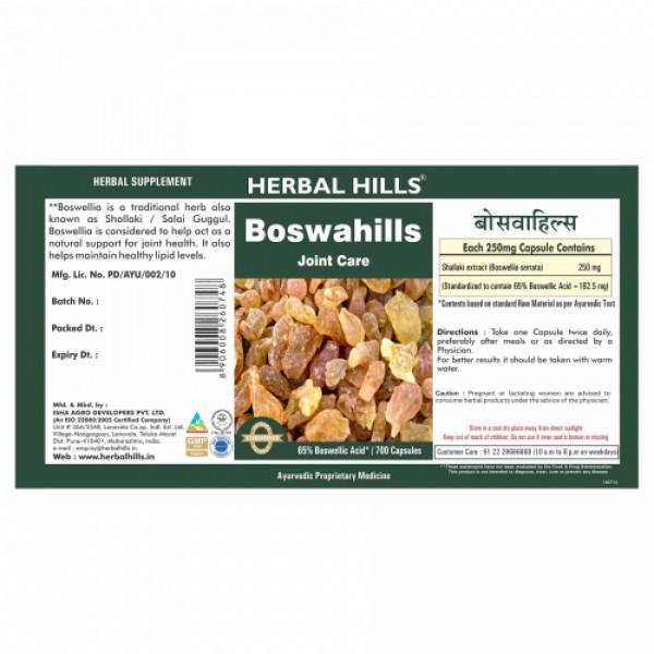 Herbal Hills Boswahills, 700 Capsules