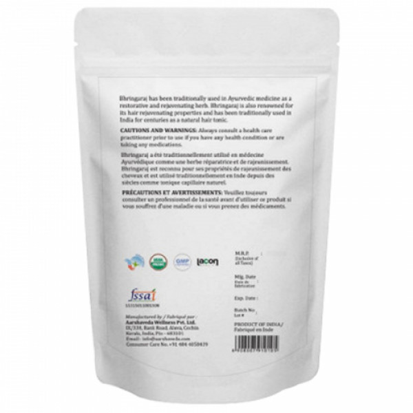 Aarshaveda Organic Brahmi Powder, 200gm