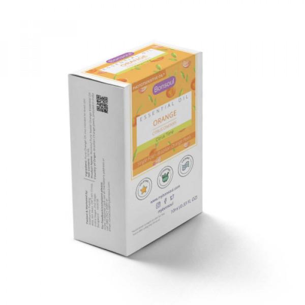 Bonsoul Orange Pure Essential Oil, 10ml