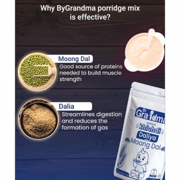 ByGrandma Daliya & Moong Dal Baby Porridge Mix, 280gm