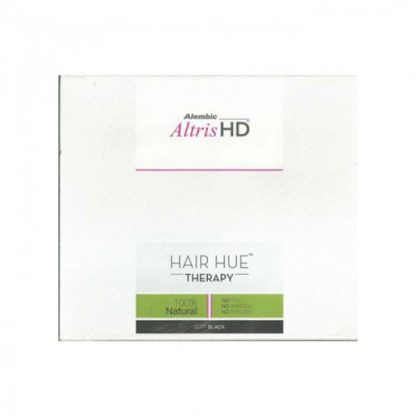 Altris HD Hair Hue Therapy - Soft Black, 150gm