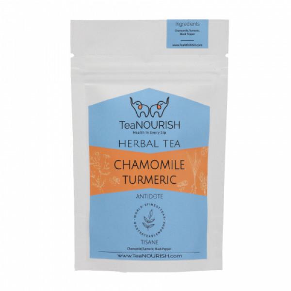 TeaNOURISH Chamomile Turmeric Herbal Tea, 50gm