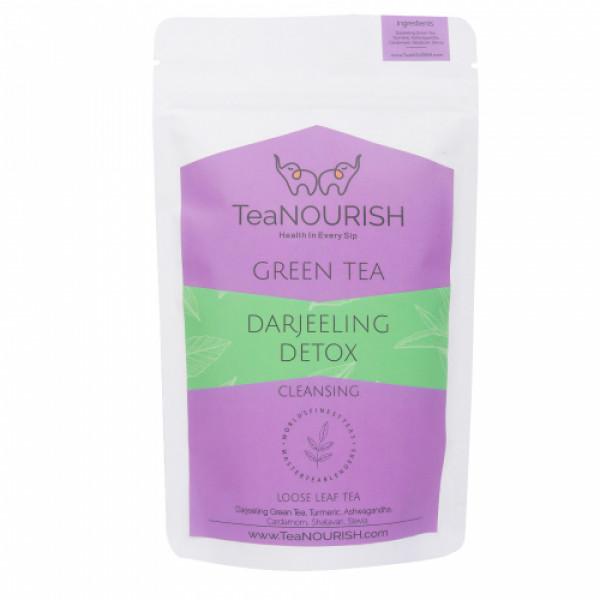 TeaNOURISH Darjeeling Detox Green Tea, 100gm