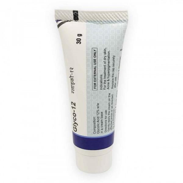 Glyco-12 Glycolic Acid Cream, 30gm