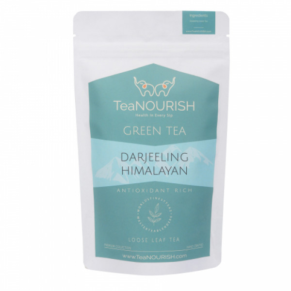 TeaNOURISH Himalayan Darjeeling Green Tea, 100gm