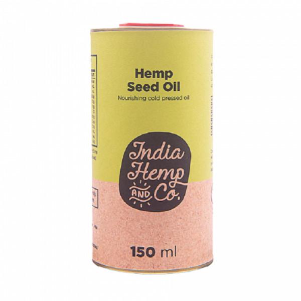 India Hemp and Co Hemp Seed Oil, 150ml
