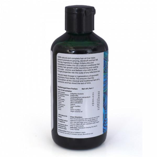 Nature's Veda Neelibhringadi Hair Oil, 200ml