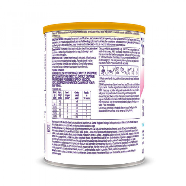 Neocate LCP Hypoallergenic Infant Formula Powder, 400gm