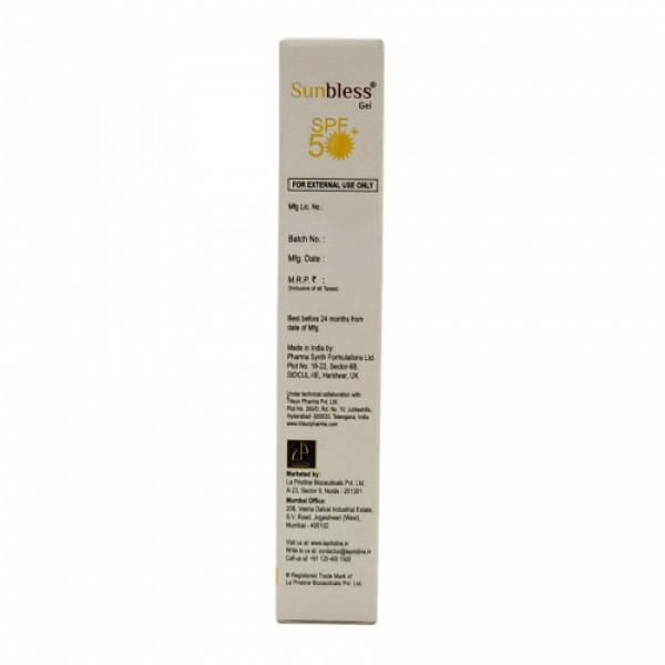 Sunbless SPF50 Silicone Sunscreen Gel, 30gm
