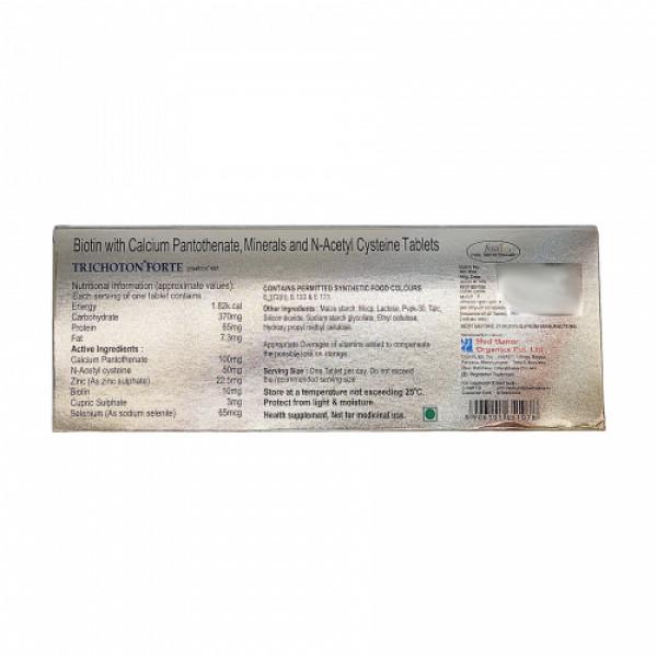Trichoton Forte, 10 Tablets