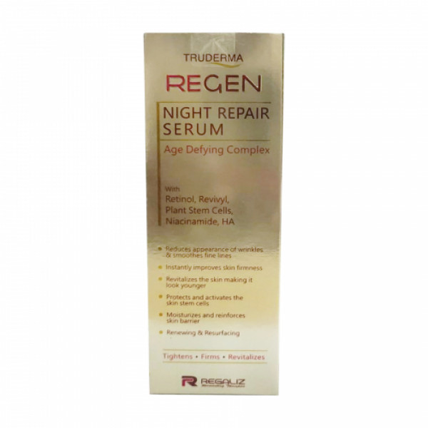 Truderma ReGen Night Repair Serum, 50ml