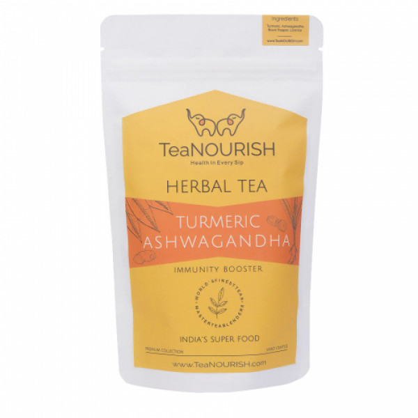 TeaNOURISH Turmeric Ashwagandha Herbal Tea, 50gm