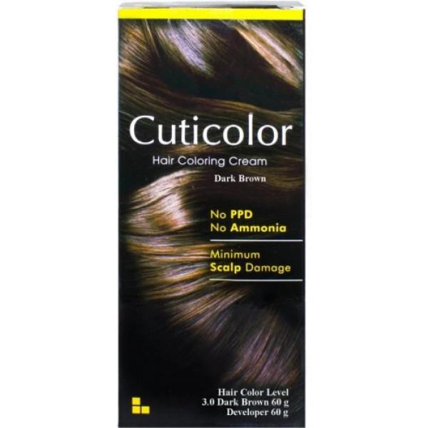 Cuticolor Hair Colour Brown, 120gm