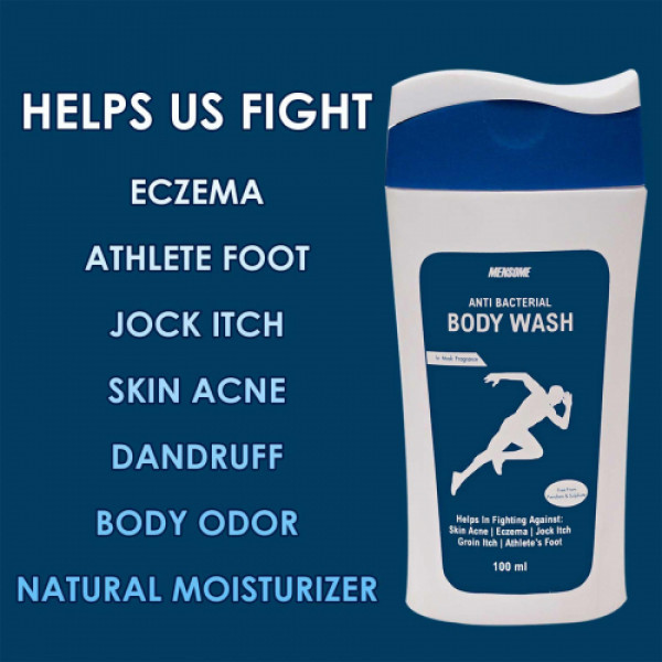 Mensome Anti Bacterial Body Wash, 100ml
