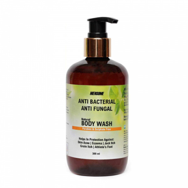 Mensome Anti Bacterial and Anti Fungal Body wash, 300ml
