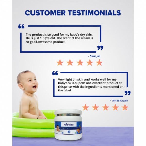 ByGrandma Herbal Baby Bath Powder, 250gm