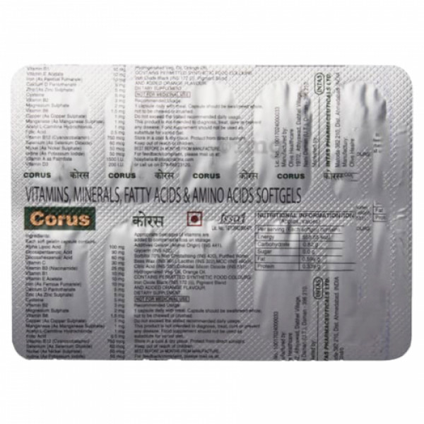Corus, 10 Capsules