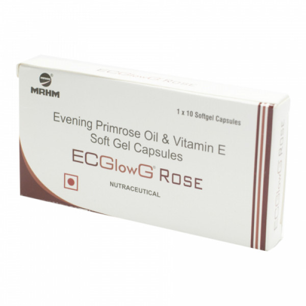 Ecglow G Rose, 10 Capsules