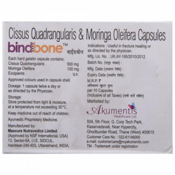 Bindbone, 10 Capsules