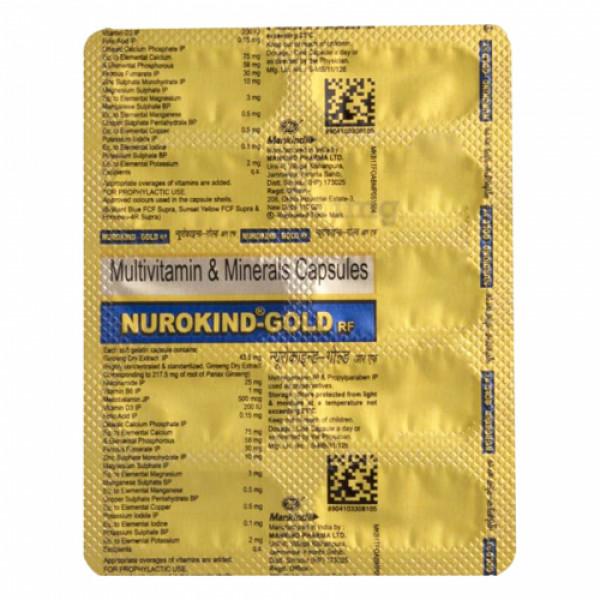 Nurokind-Gold RF, 10 Capsules