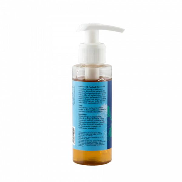 Bipha Ayurveda Cedarwood & Patchouli Shower Gel, 90ml
