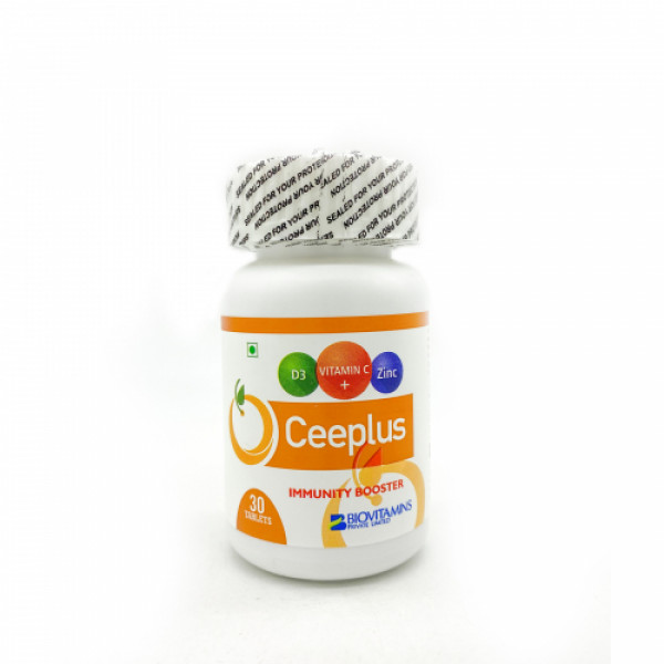 Ceeplus Immunity Booster, 30 Tablets