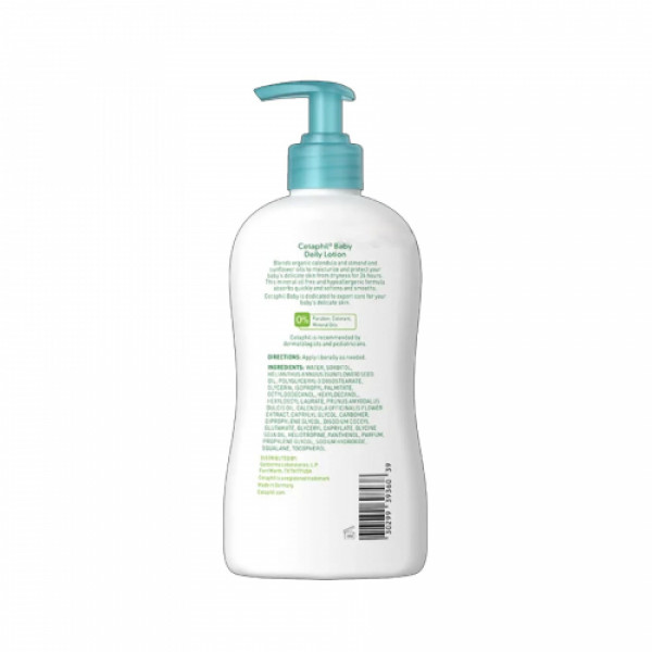 Cetaphil Baby Daily Lotion With Organic Calendula , 397gm