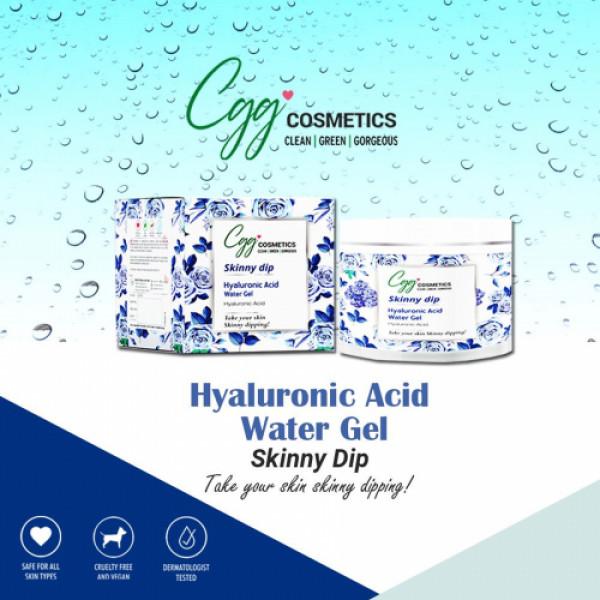 CGG Cosmetics Skiny Dip Hyaluronic Acid Water Gel - 100gm