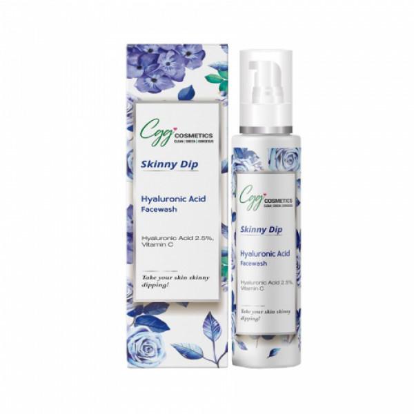 CGG Cosmetics Hyaluronic Acid 2.5% & Vitamin C Face Wash, 100ml