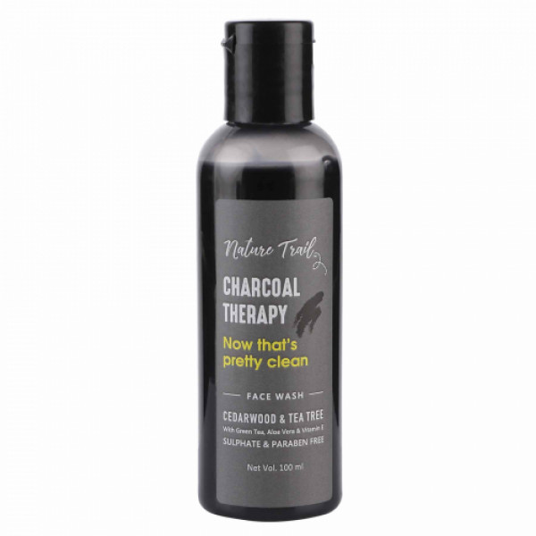 Nature Trail Charcoal Therapy Face Wash, 100ml