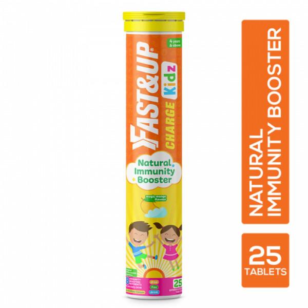 Fast&Up Charge Kidz Effervescent (Magic Mango), 25 Tablets