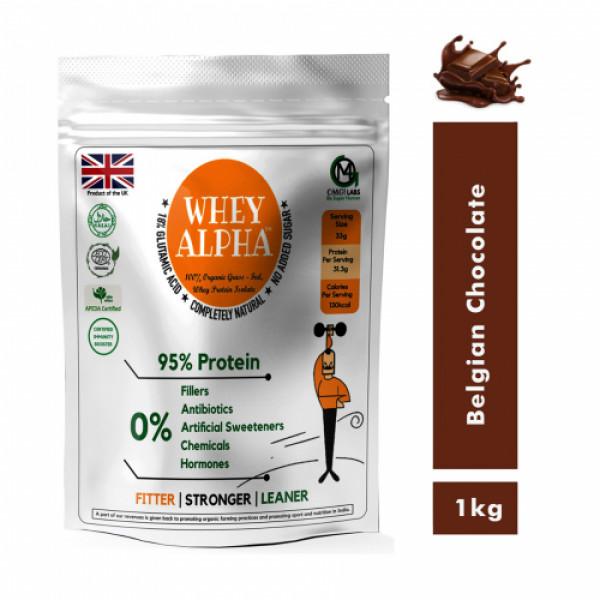 OMG Whey Alpha Belgian Chocolate, 1kg