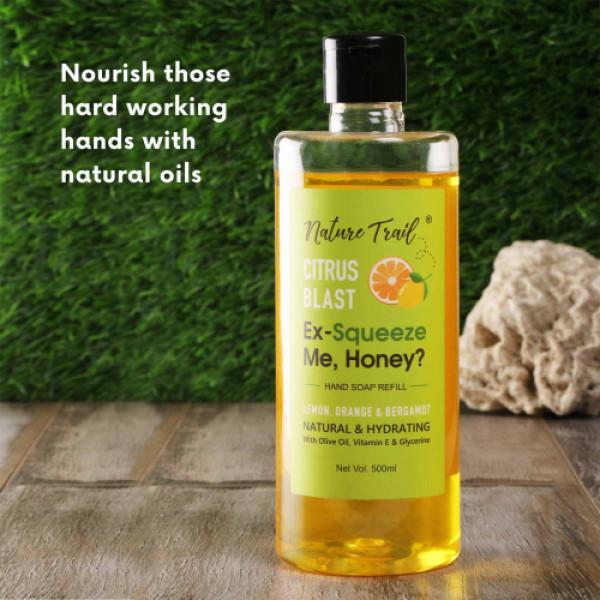 Nature Trail Citrus Blast Handwash, 500ml