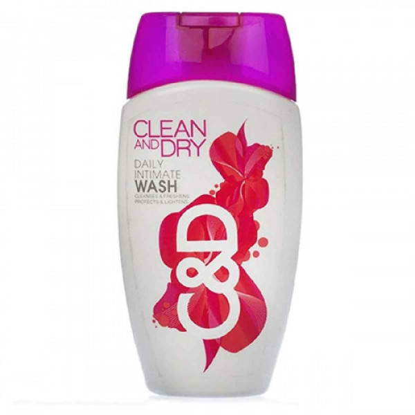 Clean and Dry Daily Intimate Wash, 90ml