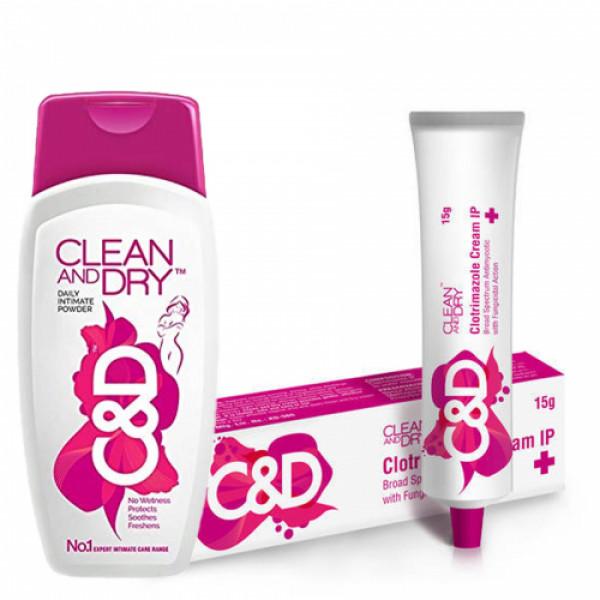 Clean & Dry Intimate Care Pack + VWash Plus