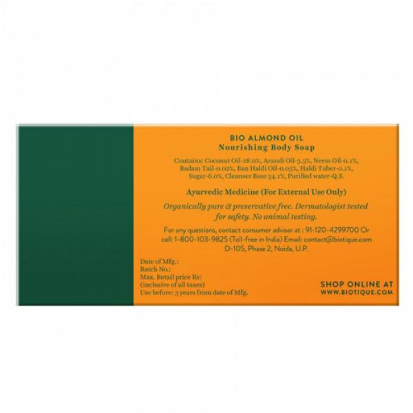 Biotique Almond Oil Body Cleanser, 150gm