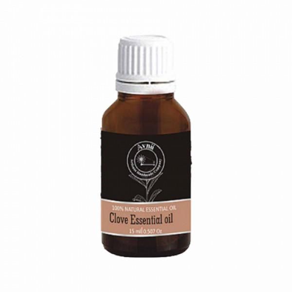 Avnii Organics Natural Clove Essential Oil, 15ml
