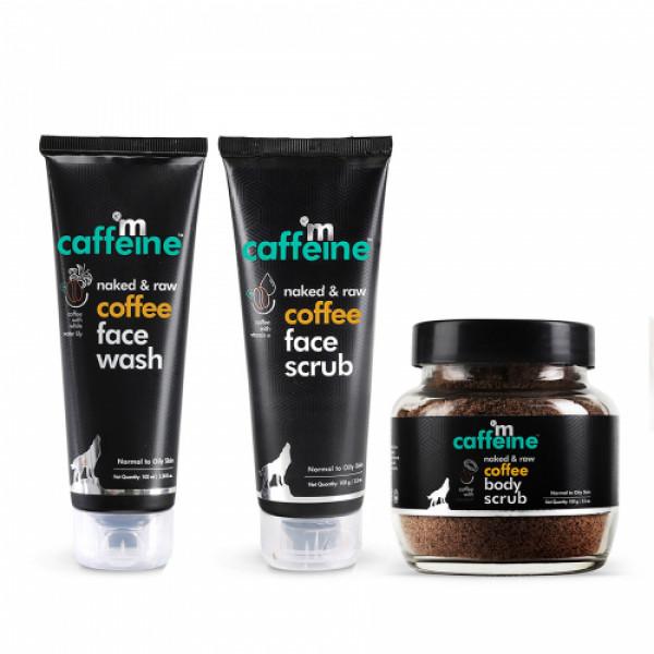 mCaffeine Complete Coffee Skin Care Combo, 300gm