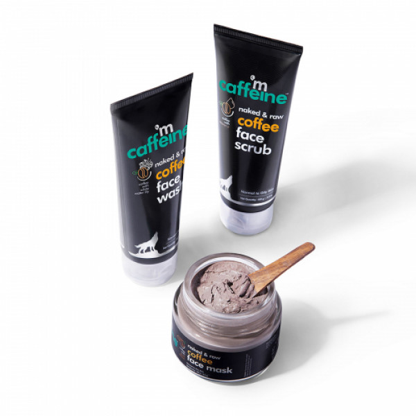 mCaffeine Deep Pore Cleansing Regime, 300gm