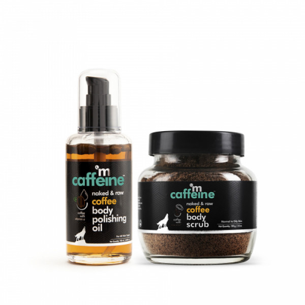 mCaffeine Cellulite And Stretch Mark Reduction Duo, 200gm