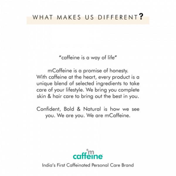 mCaffeine Daily Cappuccino Bath Kit, 300gm